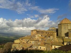 Vista di Volterra, vicina al nostro B&B La Pecora Nera